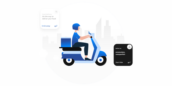 On-demand delivery with Roam.ai location tracking